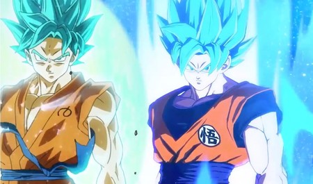 Las animaciones de Dragon Ball FighterZ superan a las de DB Super, y las referencias de los Super Saiyan Blue son la prueba