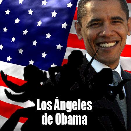 los ángeles de obama