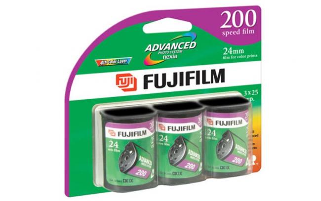 Carrete película Fujifilm APS