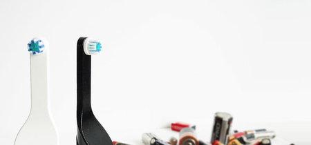 Este cepillo de dientes eléctrico se recarga con el movimiento de tu mano