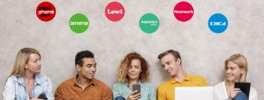 Comparamos las tarifas de fibra y móvil más baratas de República Móvil con Lowi, Amena, Finetwork, Digi y Pepephone