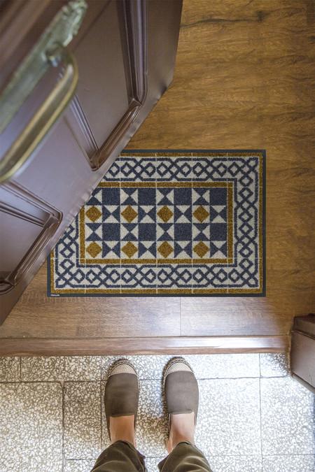 Suelos modernistas convertidos en alfombras lavables y antideslizantes, lo nuevo de Hidraulik