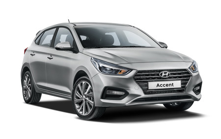 Hyundai Accent Hatchback 4