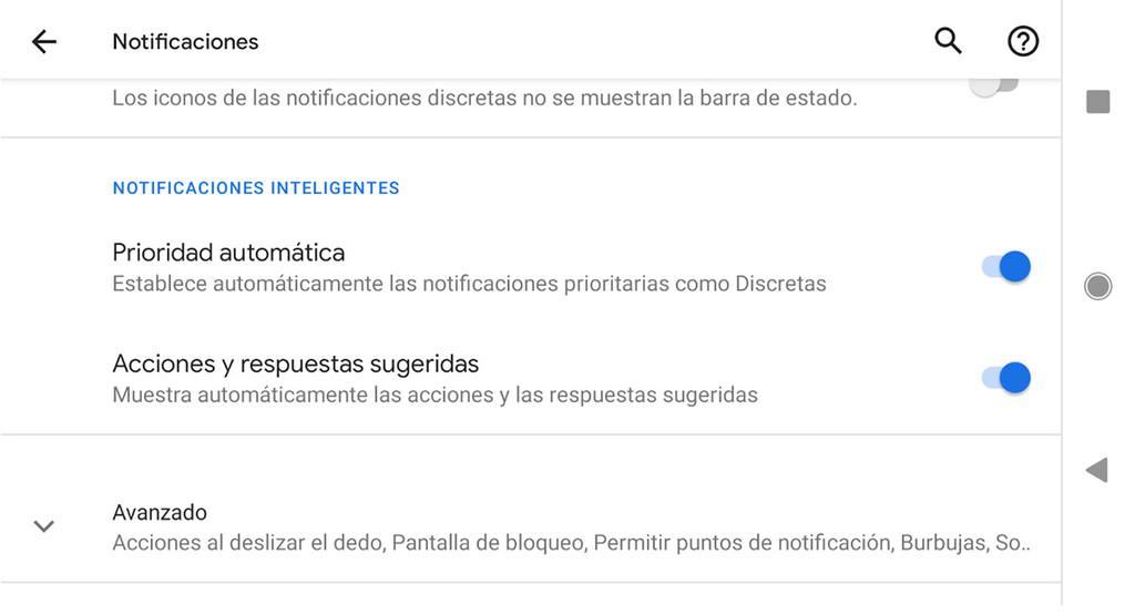 Android Q Beta cuatro debuta las notificaciones inteligentes, con prioridad automáticamente y sugerencia de respuestas