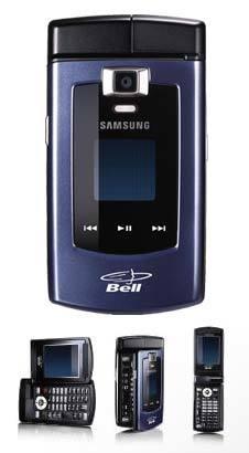 Samsung U740, diferentes posiciones, diferentes usos
