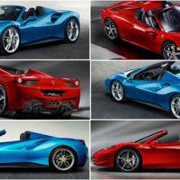 Ferrari 488 Spider vs Ferrari 458 Spider: comparamos visualmente los últimos descapotables de Maranello