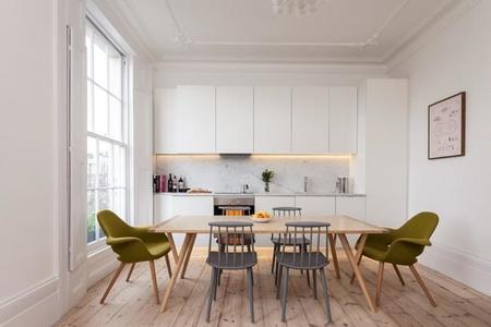 Puertas abiertas: una casa de estilo georgiano en Londres