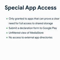 """Con Android 11 los gestores de archivos necesitarán pedir permiso a Google para acceder a """"todos"""" los archivos"""