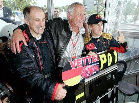 """Franz Tost: """"Nunca habrá otro Sebastian Vettel"""""""