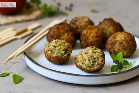 Albóndigas de calabacín y berenjena, una receta para disfrutar (a tope) de las verduras