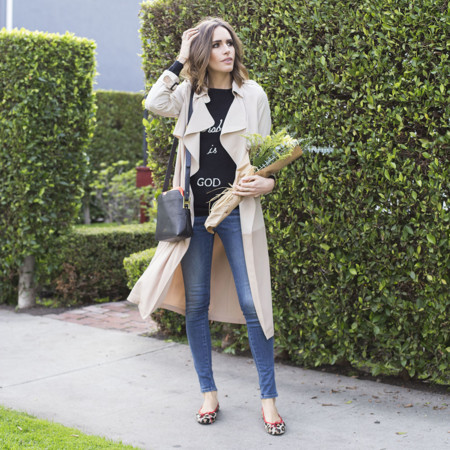 Louise Roe Classic French Girl Style La Streetstyle Front Roe Fashion Blog 0