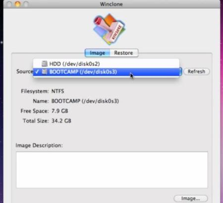 Winclone crear copia seguridad