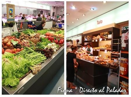 Mercado tradicional y panadería