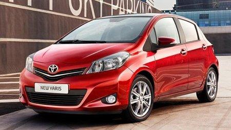 Primeras imágenes del nuevo Toyota Yaris 2012