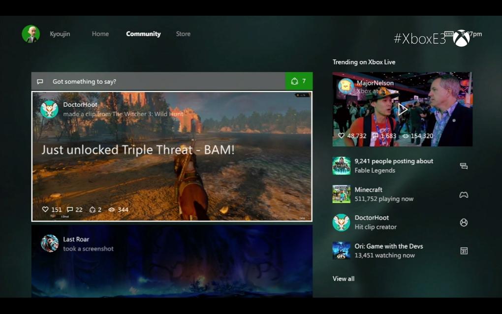 Foto de Nuevo dashboard de Xbox One (2015) (1/7)