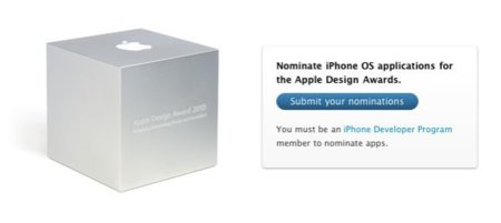 Apple Design Awards, este año ¿sólo aplicaciones para el iPhone y iPad?