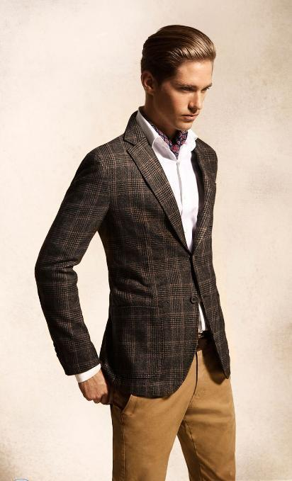 Conjunto Smart Casual en Lookbook septiembre Massimo Dutti