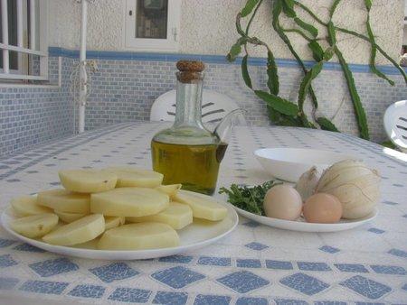 ingredientes de las patatas a la importancia