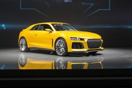 Audi Quattro Sport e-tron Concept, el músculo de la nostalgia