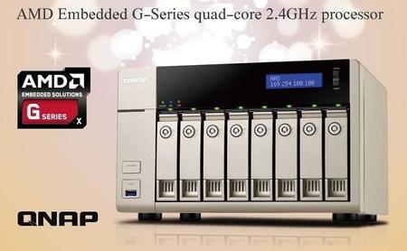 QNAP estrena nuevos NAS TVS-x63 equipados con APUs embebidos AMD G-Series
