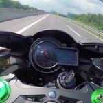 Kawasaki Ninja H2, rienda suelta en Autobahn