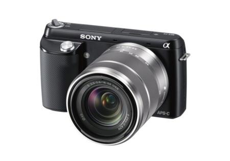 Sony NEX-F3 con objetivo