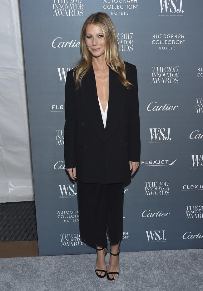 premios wsj magazine innovator awards celebrities alfombra roja Gwyneth Paltrow