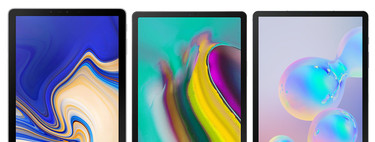 Samsung Galaxy Tab S6 vs Samsung Galaxy Tab S5e vs Samsung Galaxy Tab S4: esto es todo lo que ha cambiado