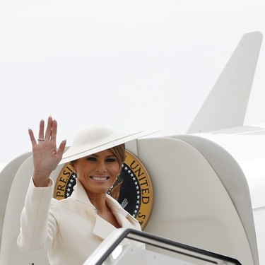 Todos los looks de Melania Trump en su visita oficial al Reino Unido