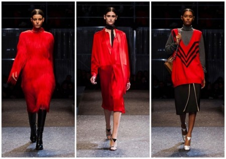 Prada Tendencia Color Rojo Oi 2014 2015 2