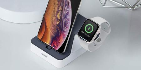 Sin líos de cables con la base Belkin PowerHouse para iPhone y Apple Watch, a su precio mínimo histórico en Amazon: 50,99 euros
