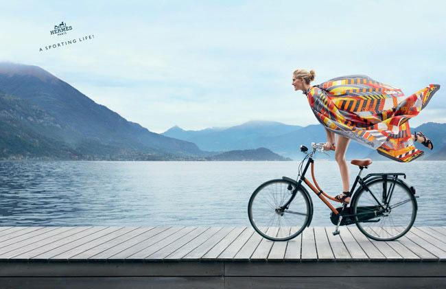 Bicicleta lago Como