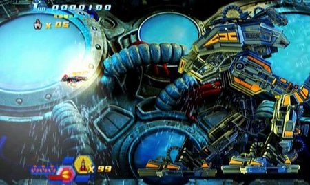 'Sturmwind'. ¡Sí, otro shoot'em up más para Dreamcast!