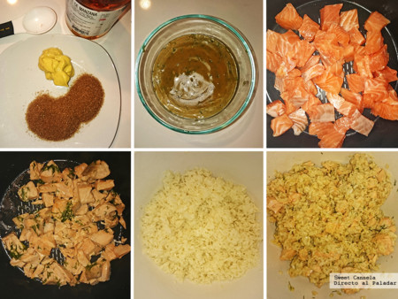 Preparacion Ensalada Salmon