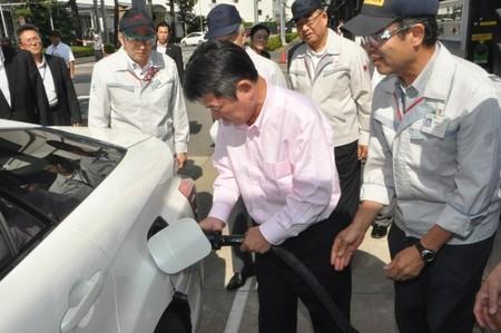 En Japón se aceleran los planes para la puesta en marcha de más de 100 hidrogeneras