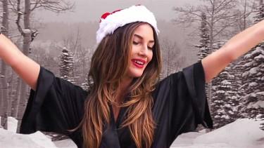 Ángeles de Victoria's Secret, esto del 'Jingle Bells'... os lo perdono por ser vosotras