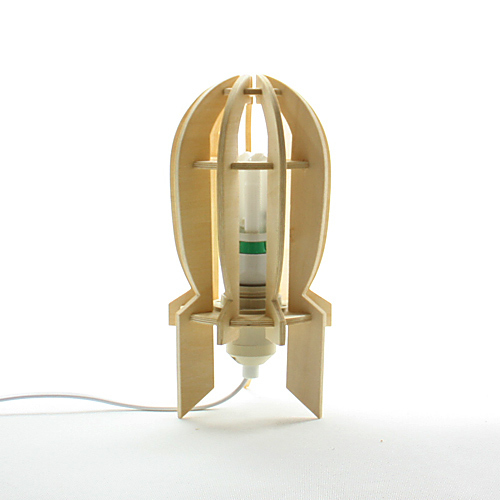 Foto de Invader, una lámpara inspirada en La Guerra de los Mundos (1/7)
