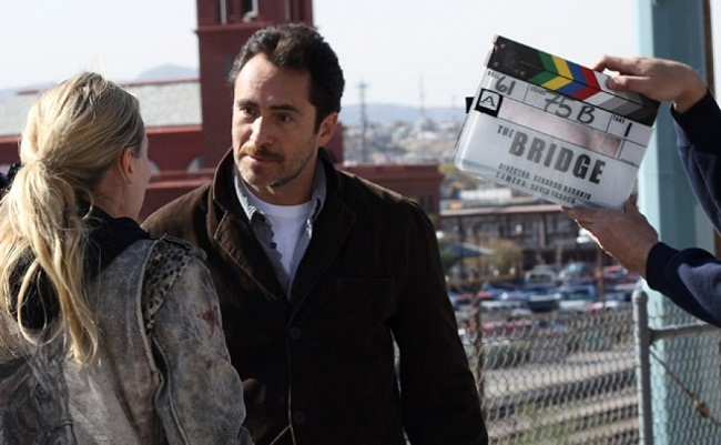 Rodando 'The Bridge'