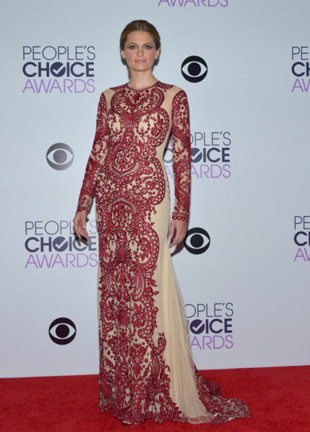 Stana Katic Peoples Choice Awards 2014