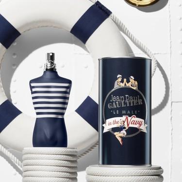 Le Male in the Navy, la edición limitada del perfume de Jean Paul Gaulter con estilo aún más marinero