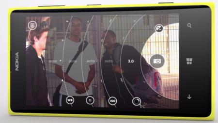Interfaz Nokia Pro Cam