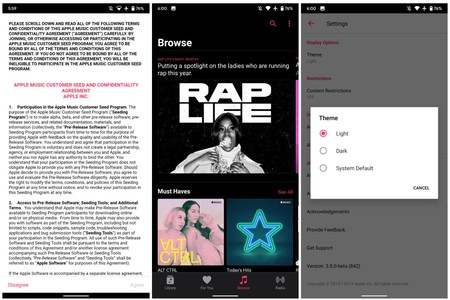 Apple Music 3 0 Android Beta