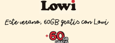 Lowi tira la casa por la ventana en verano y regala 60GB de datos a todos sus clientes