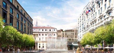 A la Apple Store de Milán, diseñada por Foster + Partners, se accederá por una cascada