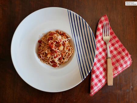 Probamos la pasta del mar: el nuevo producto desarrollado por Pescanova y Ángel León que promete pasar la merluza por espaguetis
