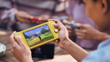 Nintendo Switch Lite Oficial Pantalla
