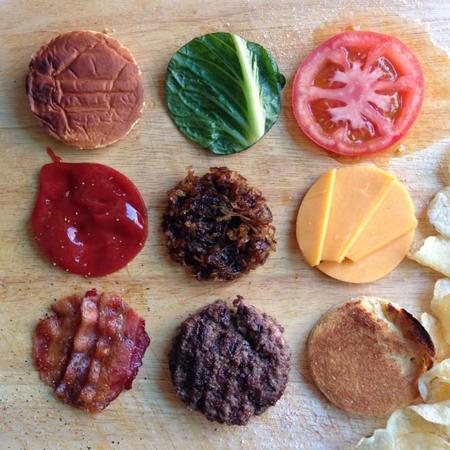 Comida perfectamente ordenada…. para los obsesivos compulsivos