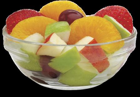 Pequeño plato de frutas