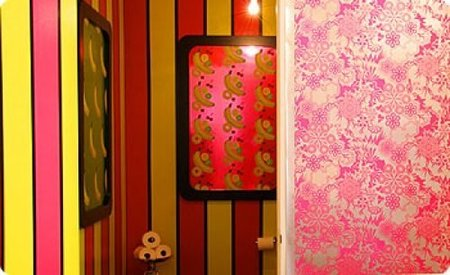 papel pintado aromatico baño