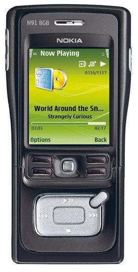 Nokia anuncia la disponibilidad del N91 8GB
